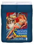 Tibetan Spaniel Art - Salome Movie Poster Duvet Cover