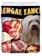 Tibetan Terrier Art - The Lives Of A Bengal Lancer Movie Poster Duvet Cover