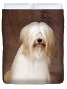 Tibetan Terrier Dog Duvet Cover