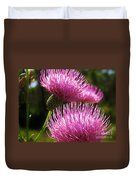 Tickled Thistle Duvet Cover