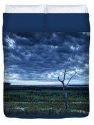 Tidal Marsh View Duvet Cover