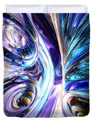 Tide Pool Abstract Duvet Cover