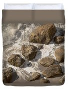 Tide Pools Of Shell Beach California Duvet Cover