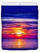 Tie Dyed Sky Duvet Cover