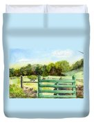 Tiffany Farms East Gate Duvet Cover