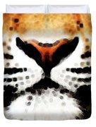Tiger Art - Burning Bright Duvet Cover