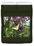 Tiger Butterfly Duvet Cover