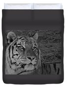 Tiger Bw Duvet Cover