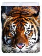 Tiger Close Up Duvet Cover