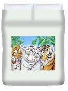 Tiger Cubs Duvet Cover