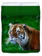Tiger Dream Duvet Cover
