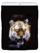 Tiger Greatness Digital Painting Duvet Cover