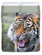 Tiger Growl Duvet Cover