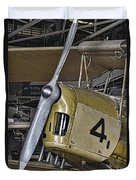 Tiger Moth Duvet Cover