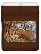 Tiger Peepers Duvet Cover