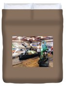 Tiger Project Work Space Duvet Cover