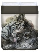 Tiger R And R Duvet Cover