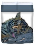 Tiger R And R V4 Duvet Cover