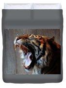 Tiger Roar Duvet Cover