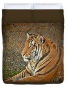 Tiger Stair Duvet Cover