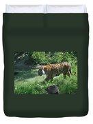 Tiger Stroll Duvet Cover