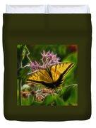 Tiger Swallowtail Digital Art Duvet Cover