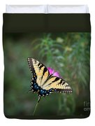 Tiger Swallowtail I Believe Duvet Cover