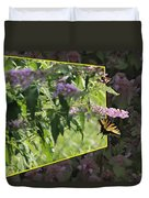 Tiger Swallowtail Oob-featured In Beautycaptured-oof-harmony And Happiness Duvet Cover