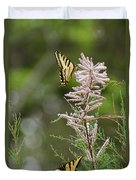 Tiger Swallowtails Duvet Cover