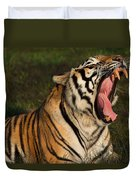 Tiger Teeth Duvet Cover