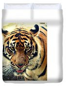Tiger Tongue Two Duvet Cover