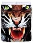 Tiger Watercolour Duvet Cover