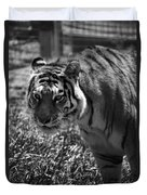 Tiger With A Cold Stare Duvet Cover