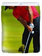 Tiger Woods - The Honda Classic Duvet Cover