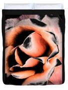 Tigers And Roses Duvet Cover