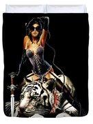 Tigirl Duvet Cover