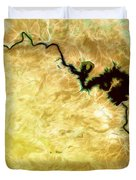 Tigris River Iraq Duvet Cover by Phill Petrovic