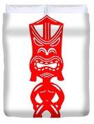 Tiki Duvet Cover