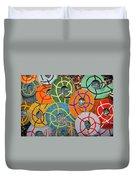 Tiled Swirls Duvet Cover