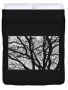 Tilia Night Silhouette Duvet Cover