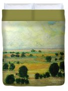 Till The Clouds Rolls By Duvet Cover