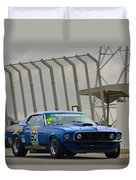 Tilley Racing Mustang Duvet Cover