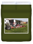 Tim Irwin Dragster Duvet Cover