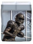 Tim Tebow Uf Heisman Winner Duvet Cover by Lynn Palmer