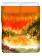 Timber Blaze Duvet Cover