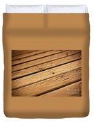 Timber Decking Duvet Cover
