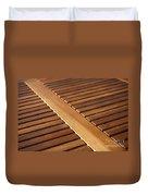 Timber Slats Duvet Cover
