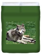 Timber Sunning Duvet Cover