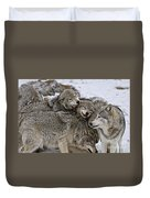 Timber Wolf Pictures 120 Duvet Cover