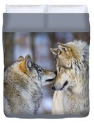 Timber Wolf Pictures 1230 Duvet Cover